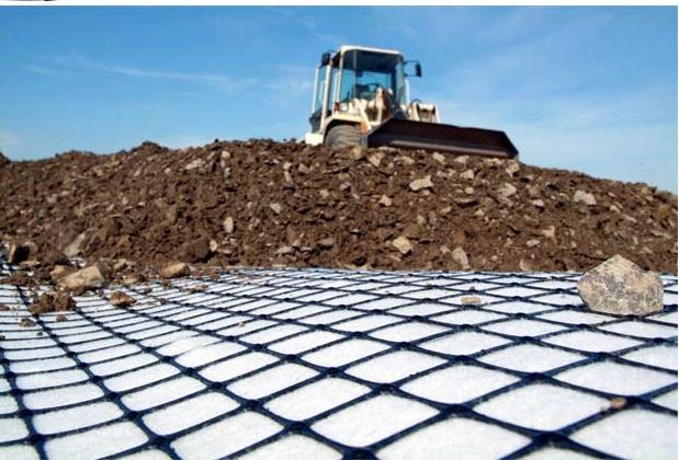 PP Geogrid for soil stabilization
