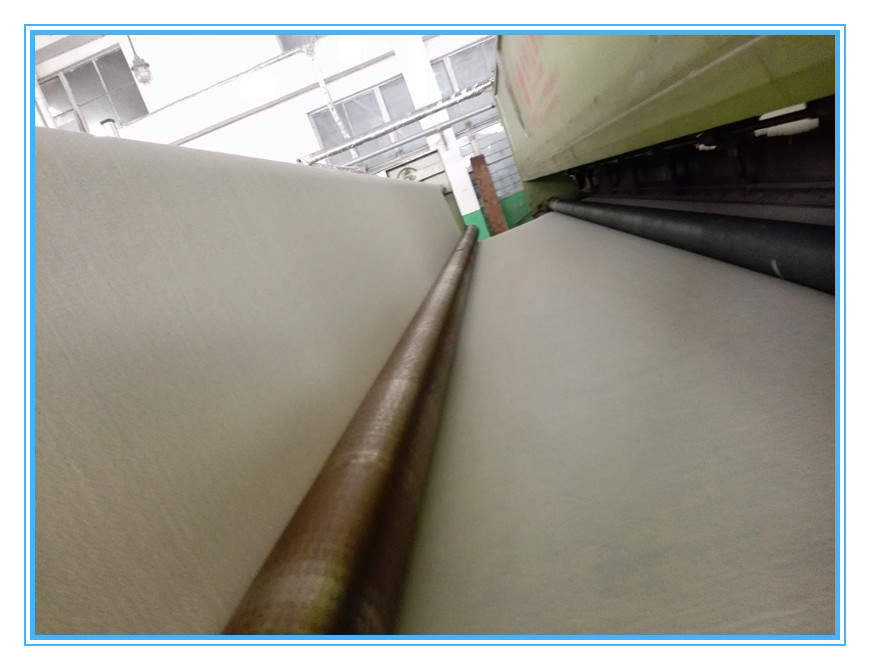 PET short fiber nonwoven geotextile